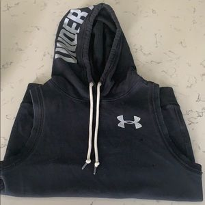 Under Armour Tops - Underarmour sleeveless sweatshirt